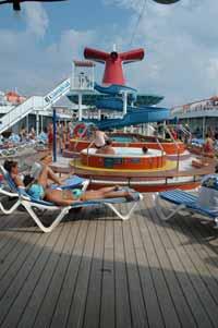 Onboard Carnival Elation